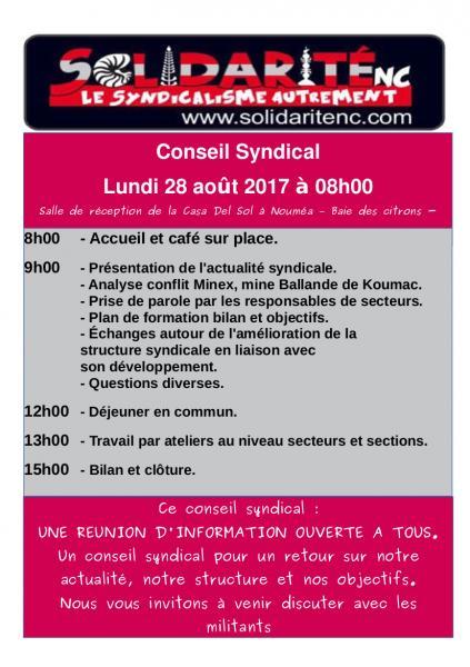Conseil 2017